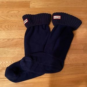 Hunter Original Tall Cable Knit Cuff Boot Sock